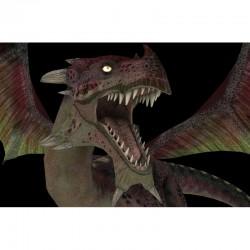 3D настилка за геймъри – дракон
