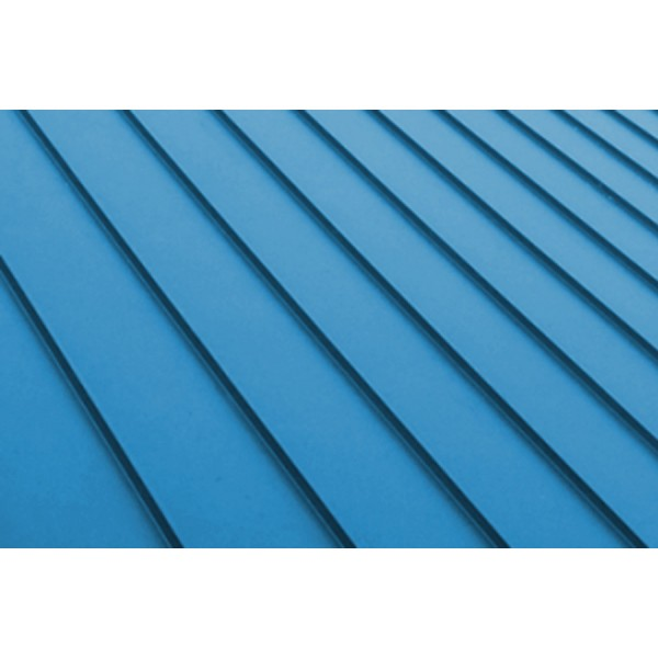 3D цветна настилка за покрив Seam модул Blue