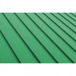 3D цветна настилка за покрив Seam модул Green