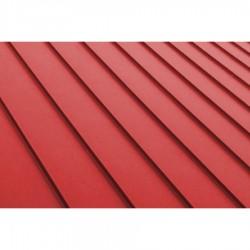 3D цветна настилка за покрив Seam модул Red