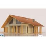 3D цветна настилка за покрив Seam модул Red-Brown