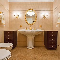Лукс и авангард с малки аксесоари за баня