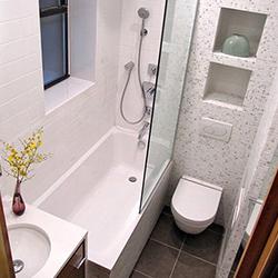 Идеи за малка баня с тоалетна