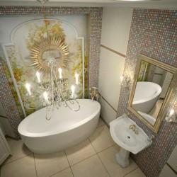 Интериорен дизайн на бани в класически стил