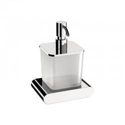 Луксозен дозатор за течен сапун върху подложка – Vogue (Daniel)