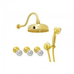 Смесител за душ/ вана за вграждане – Crystal CY444189DO