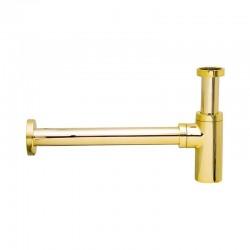 Бутилков сифон (златен) месинг – Crystal A750DO