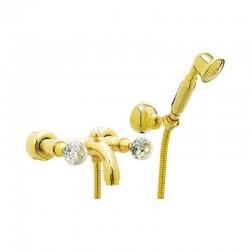 Златен смесител за душ/ вана – Crystal CY4300DO