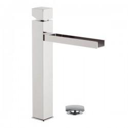 CW607 - Смесител за мивка, висок, с клик сифон