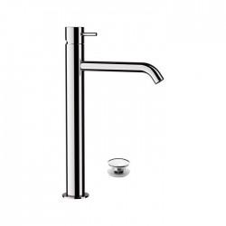 Висок смесител за мивка с дренажен сифон – Tokyo TK607
