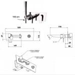 DV652 - Смесител за вана, вграден