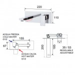 Вграден смесител за мивка – Skyline SK632