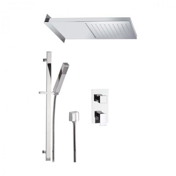 Модерен сет за душ със смесител за вграждане – Skyline SK614ZSSCA