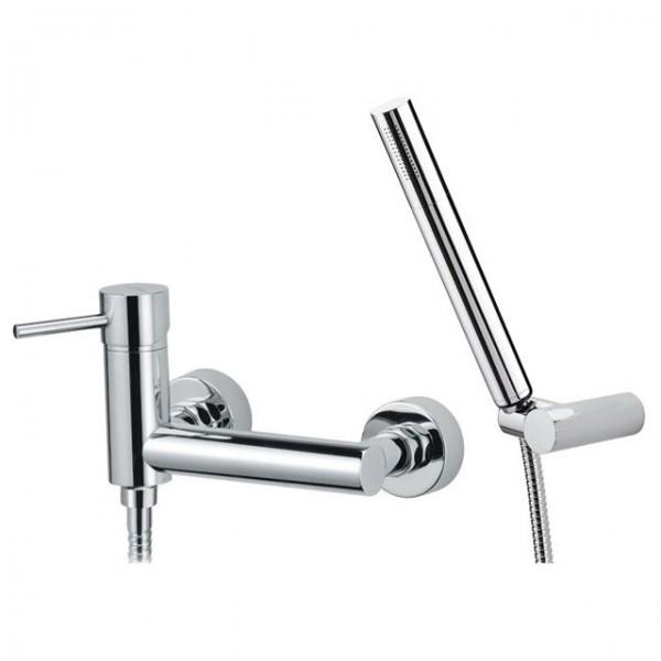 Стенен смесител с душ ръчна слушалка – Suvi S20611A