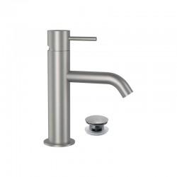 Смесител за мивка с клик сифон – модел Tokyo Steel на Daniel (It)