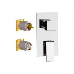 Вграден смесител за душ SP612D2KB