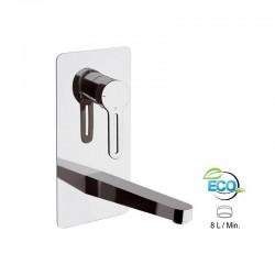 """Вграден смесител за мивка ЕКО дизайн """"SMART"""" SRE634LT8"""