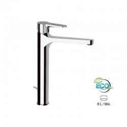 """Висок смесител за мивка с преливник ЕКО дизайн """"SMART"""" SRE607LT8"""