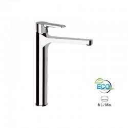 """Висок смесител за мивка без преливник ЕКО дизайн """"SMART"""" SRE607BLT8"""