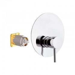 Смесител за вана/ душ за вграждане Suvi S20602KB