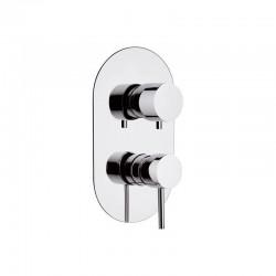 Смесител за душ с лост-ръкохватка Suvi S20612D2