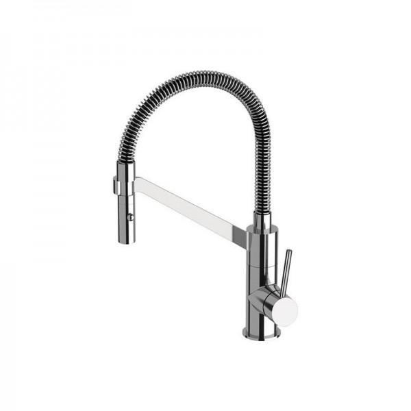 Смесител за мивка с пружен маркуч Suvi S20233