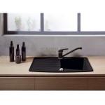 Смесител за кухненска мивка FERRO – модел Freya цвят черен графит