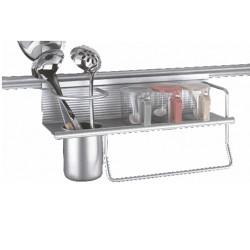 Стенен аксесоар за кухня с малка етажерка