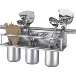 Стенен аксесоар за кухня с малка етажерка ICKA 002