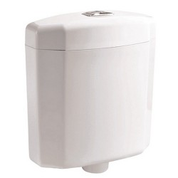 Бяло тоалетно казанче от PVC - ICC 011N