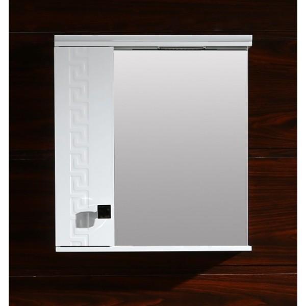 Водоустойчив шкаф за баня Спенсър/Versace - с огледало