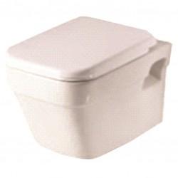 Компактна тоалетна чиния ICC 3448 за монтаж на стена  - Порцеланова