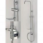 Телескопично тръбно окачване за душ – НОЛАН (Интер Керамик)
