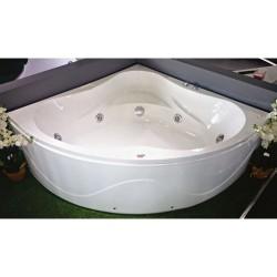 Ъглова вана за хидромасажи 1350-6 на Интер Керамик.
