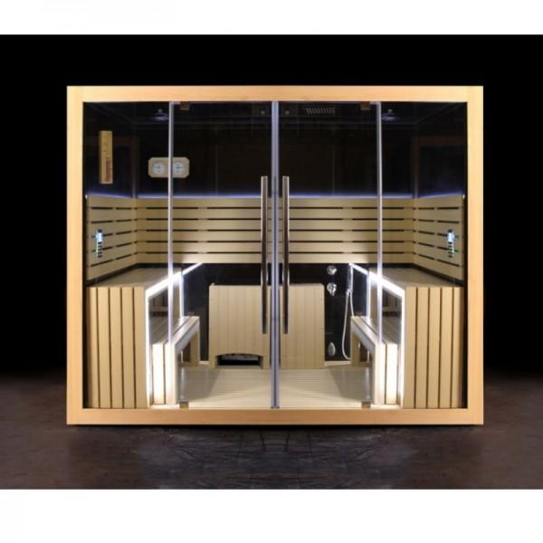 Мултифункционална кабина – сауна и парна баня