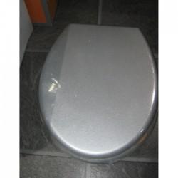 Сива тоалетна седалка – луксозен модел от MDF