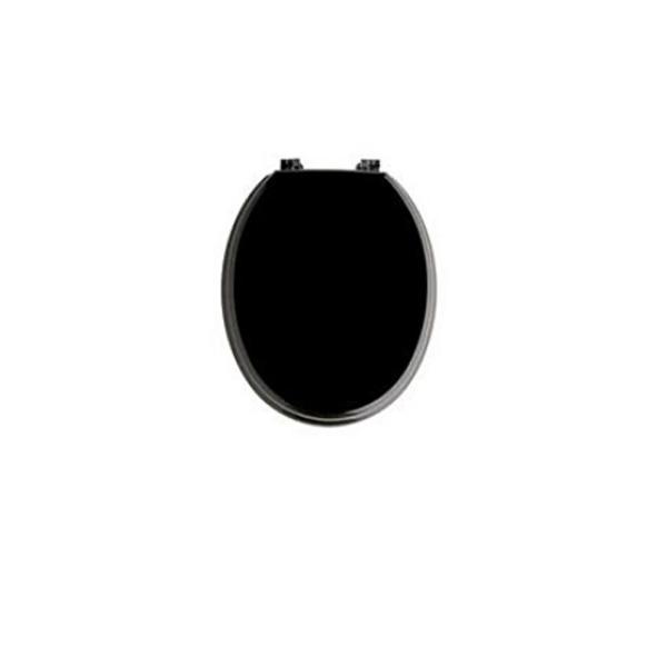Черна тоалетна седалка – луксозен модел от MDF