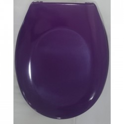 Лилава тоалетна седалка от ДУРОПЛАСТ