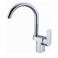 Месингов смесител за кухня – функция водоспестяване