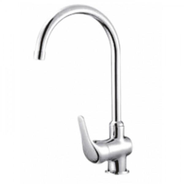 Стоящ кухненски смесител за мивка R-лебедка – Хилда Интер Керамик