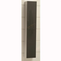 Сива колона от PVC за баня – Интер Керамик