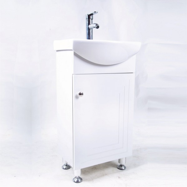 PVC мебел за баня – долен шкаф Алора