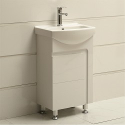 Мини стоящ PVC шкаф за баня ICP 4585