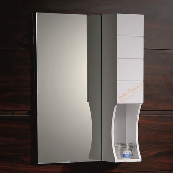 Огледален PVC шкаф за баня Мария – Inter Ceramic