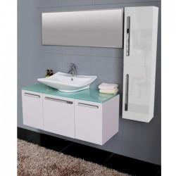 Голям комплект PVC мебели за баня – модел ICP 12045 W