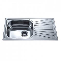 Кухненска мивка алпака ICK 7843 лява/дясна – Интер Керамик