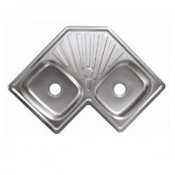 Кухненска мивка алпака ултра дизайн ICK S8383P – Интер Керамик