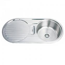 Мивка за кухня от алпака ICK D10048A лява/дясна