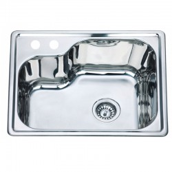 Мивка за кухня алпака ICK D5645P – Интер Керамик