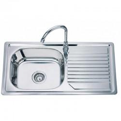Кухненска мивка от алпака ICK D 8244F лява/дясна